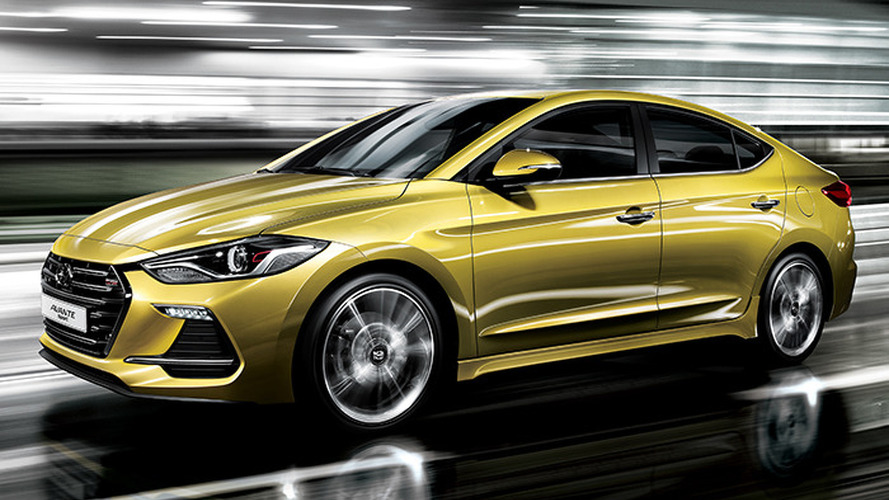 Say hello to the 2017 Hyundai Elantra Sport with 200 hp