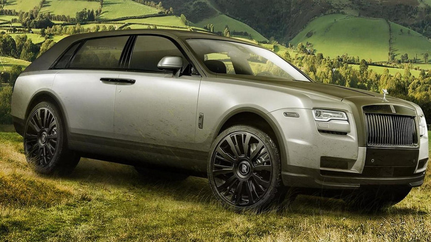 What if the Rolls-Royce SUV will look like this?