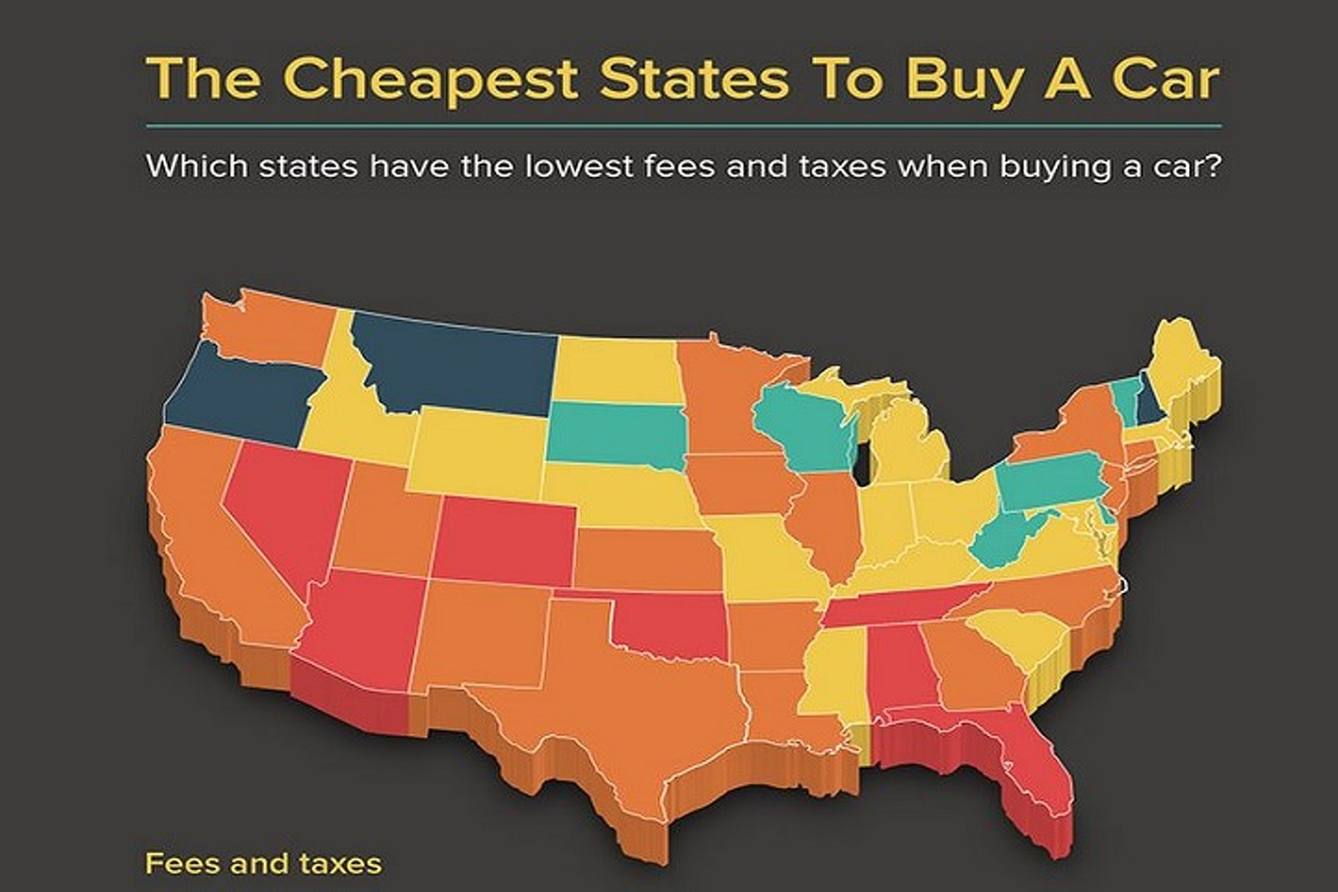 Cheapest State To Buy A Car In