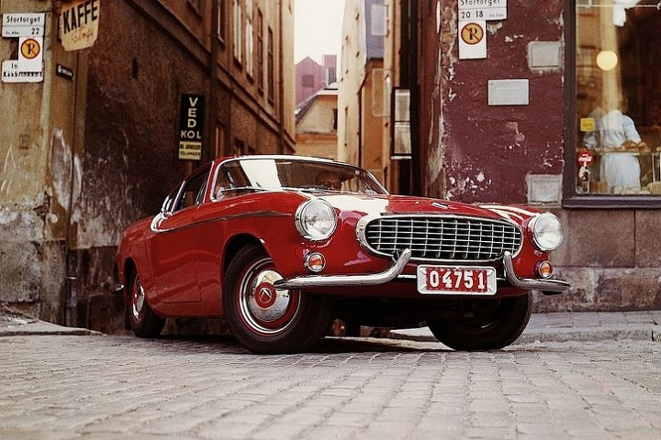 The Volvo P1800 Sports Car's Long Road to Production