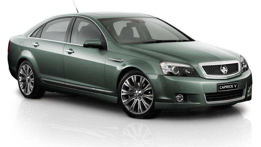 2014 Holden Caprice unveiled