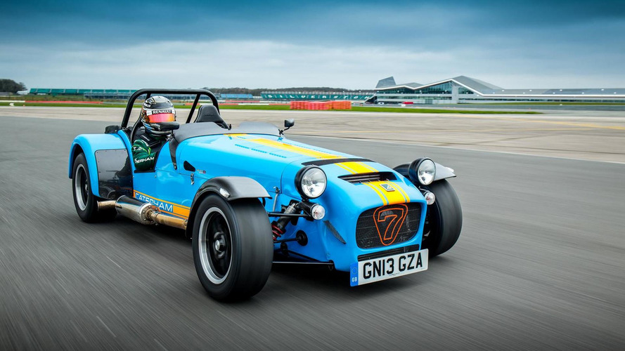 Kamui Kobayashi hits the track in a Caterham Seven 620 R [video]