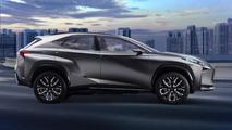Lexus LF-NX Turbo concept