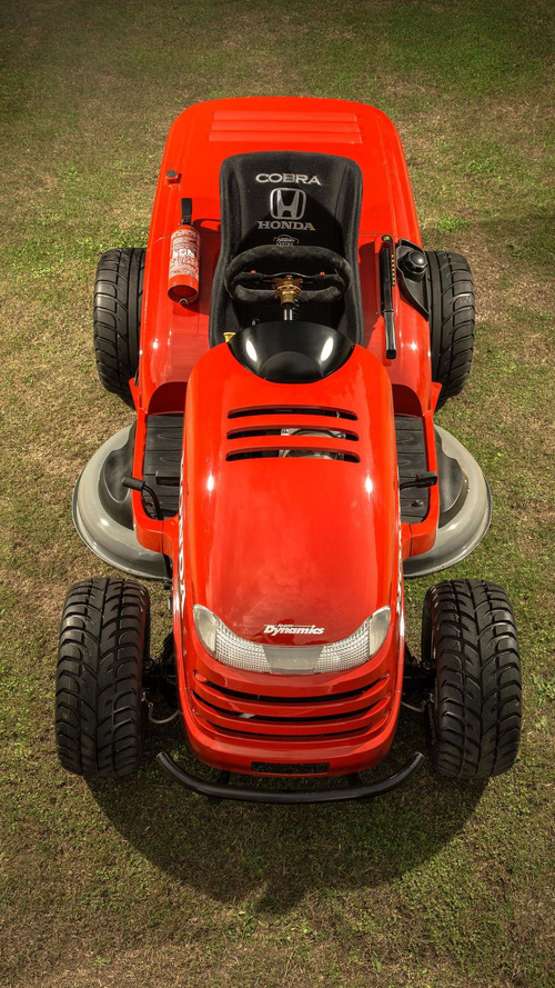 Honda & Top Gear unveil the Mean Mower [video]