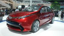 Toyota Dear Qin sedan concept live in Beijing 23.04.2012