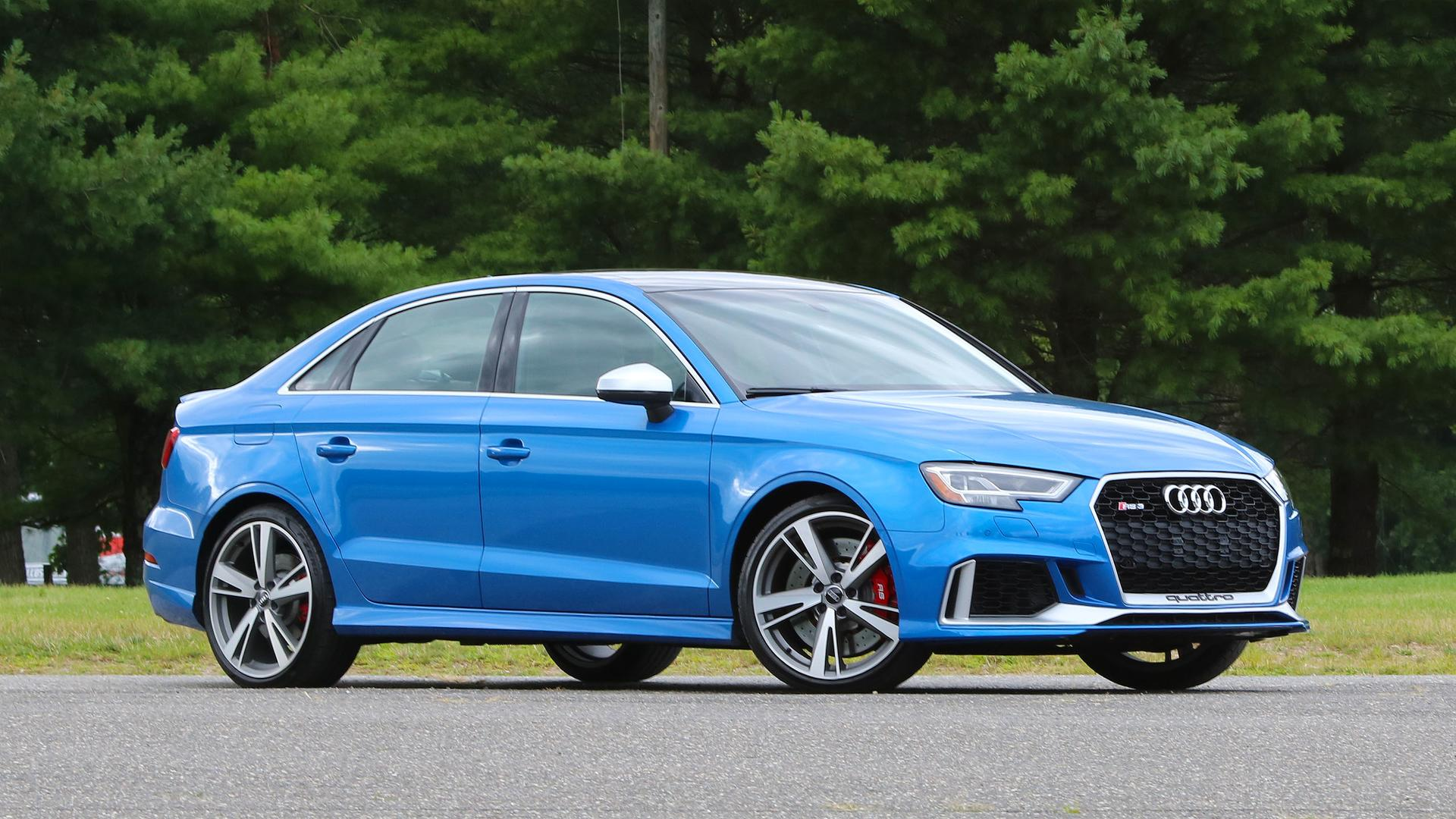 2018 audi rs3 first drive as potent as performance compacts get. Black Bedroom Furniture Sets. Home Design Ideas