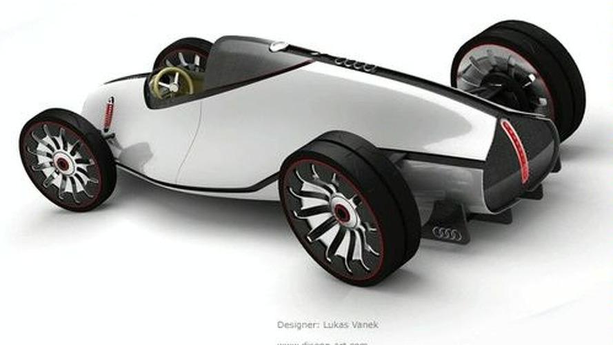 Designer Exercise: 2008 Auto Union Type-D Concept