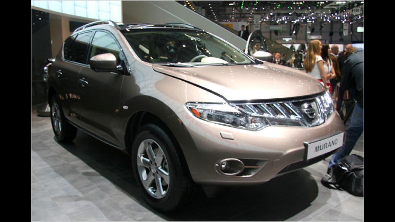 Nissan Murano: Das SUV bekommt 30 PS mehr und ein neues Gesicht