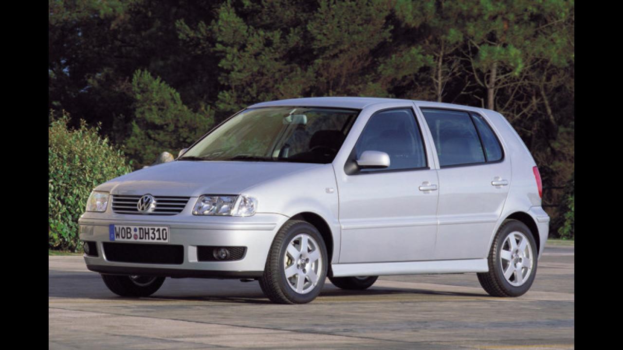 Platz 4: VW Polo (5,8 Prozent)