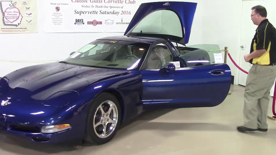 Why Is This Lame Automatic C5 Corvette Being Sold For $1M?