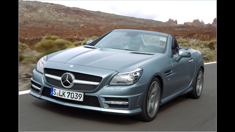 Mehr Sport, Komfort bleibt: Mercedes SLK 350