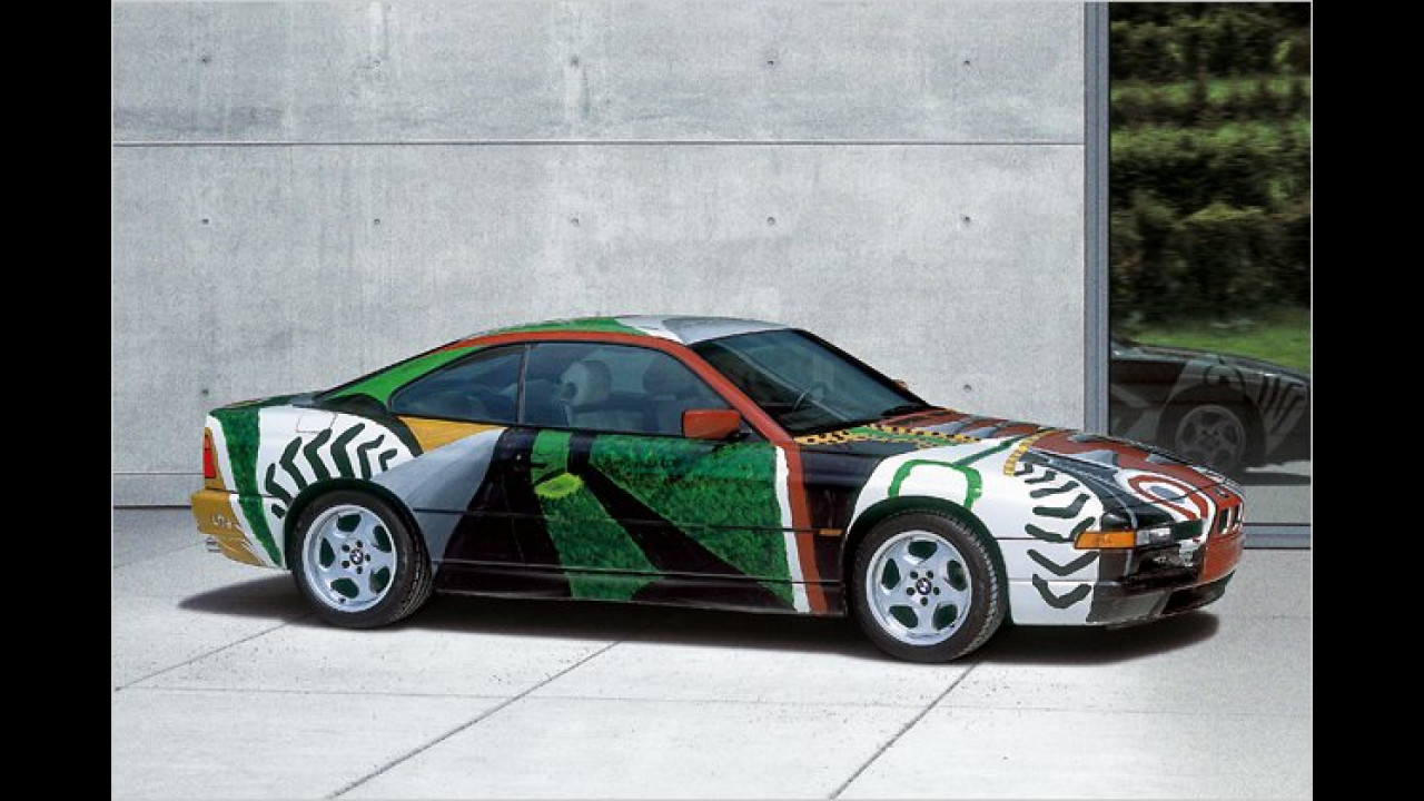 BMW 850 CSi: David Hockney (1995)
