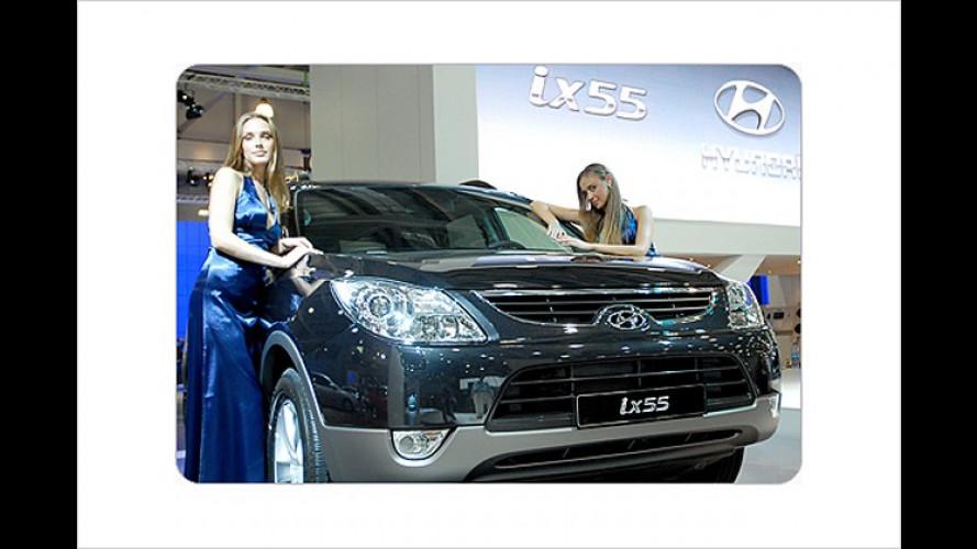 Sieben Sitze für Europa: Hyundai ix55 vorgestellt