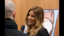 Selvaggia Lucarelli al Motor Show di Bologna 2014