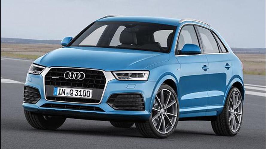 Audi Q3 restyling: stesso quadro, nuova cornice