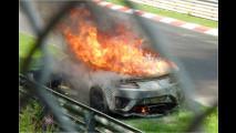 Prototyp in Flammen