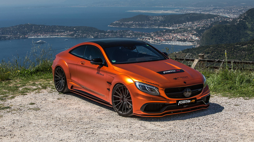 Fostla AMG S63 Coupe Is Really Orange And Pulp Free