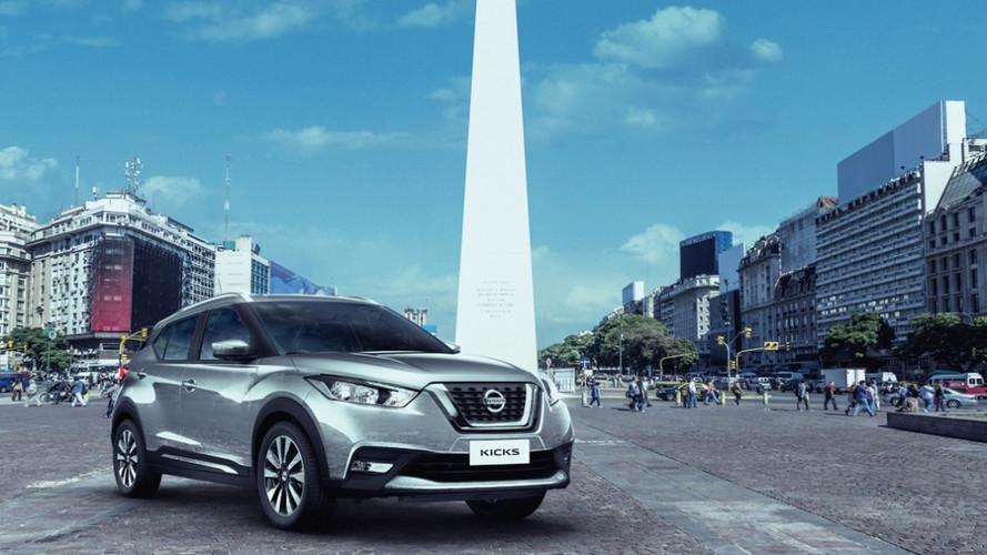 Carro-chefe da marca no Brasil, Nissan Kicks chega à Argentina