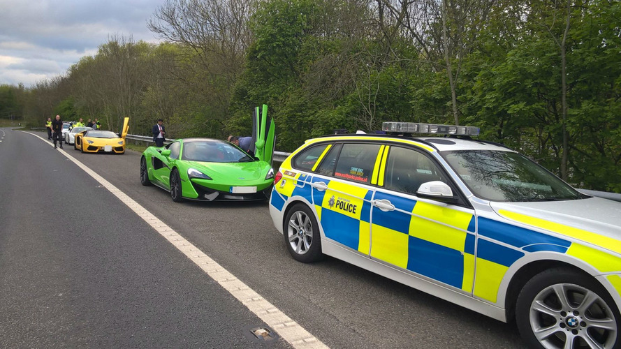 Police Seize Supercars Caught Racing On UK Motorways