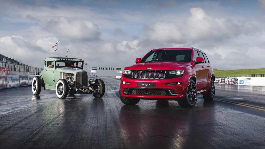 VIDÉO - Quand le Jeep Grand Cherokee SRT dévore un Hot Road