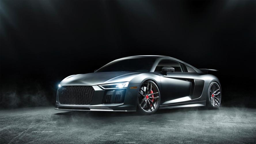 Tuning - Un kit carrosserie signé Vorsteiner pour l'Audi R8