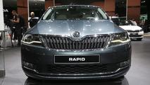 2017 Skoda Rapid, Rapid Spaceback facelift