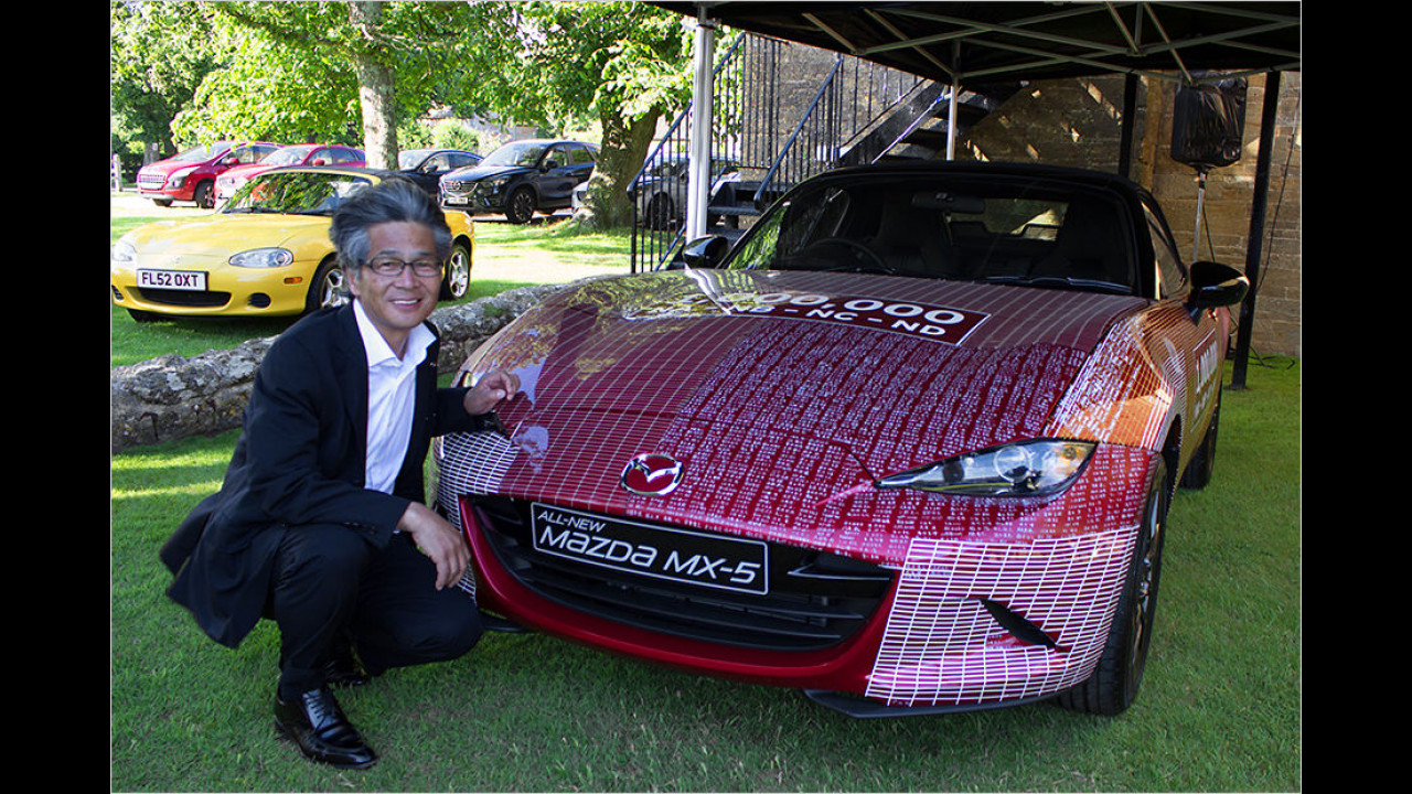 Einmillionster Mazda MX-5