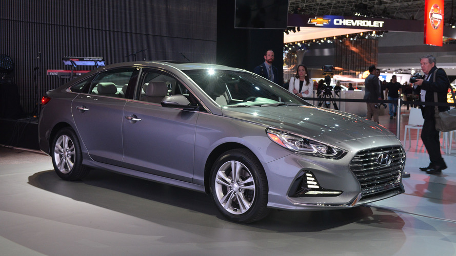2018 Hyundai Sonata Refresh Goes Above And Beyond