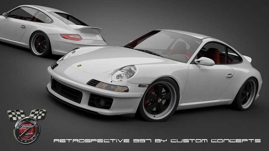 Concept Concepts previews retro 911 styling package