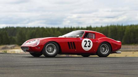 Une Ferrari 250 GTO ex-Phil Hill annoncée aux enchères pour 40 millions d'euros