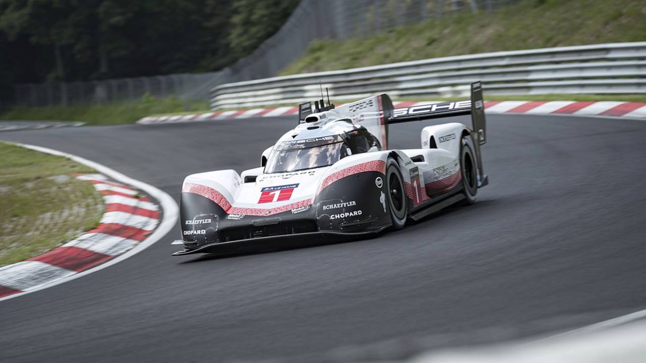 porsche 919 evo has lapped the nurburgring in 5 19 update. Black Bedroom Furniture Sets. Home Design Ideas