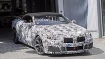 BMW M8 Convertible spy photo