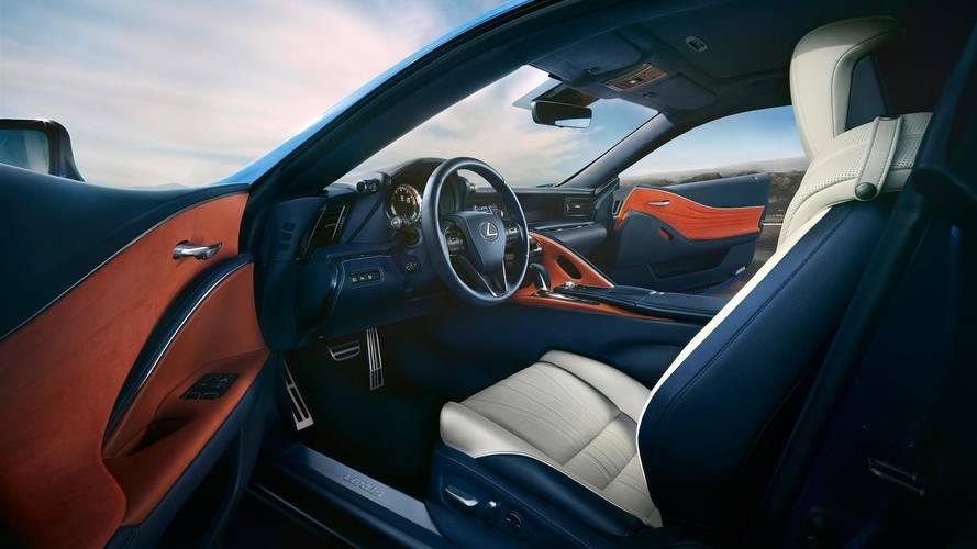 Lexus LC 500 Structural Blue Edition