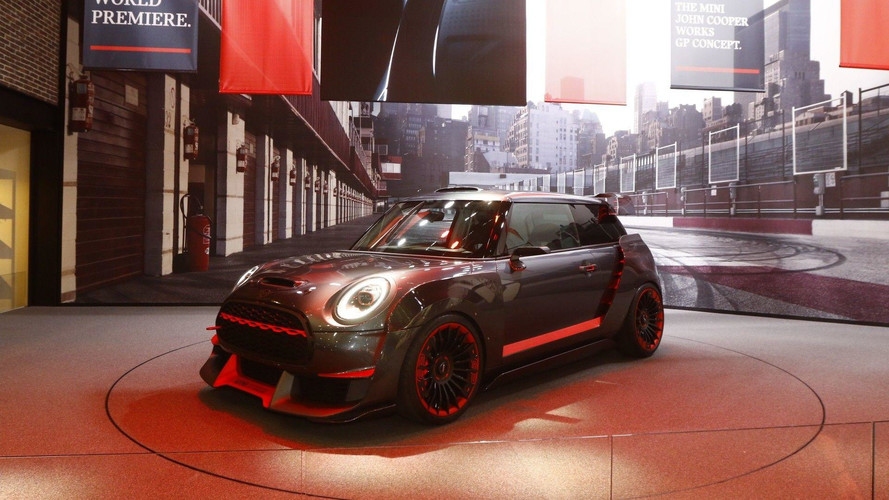 Mini Showcases Its Future With JCW GP And Electric Concepts