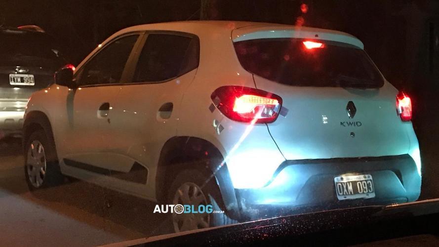 Flagra! - Renault já prepara lançamento do Kwid na Argentina