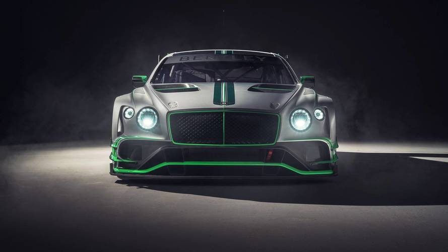 Bentley Continental GT3 2018, destinado a la competición