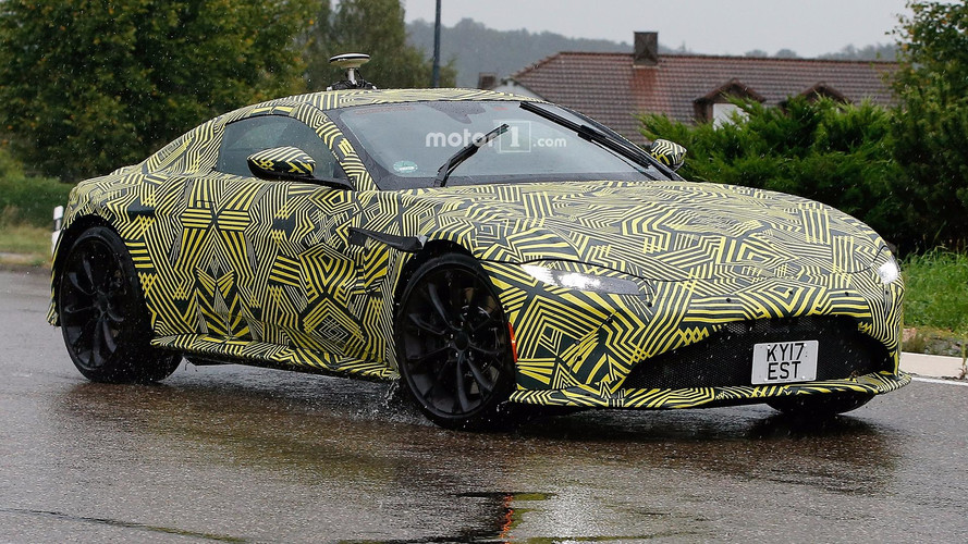 Photos espion - Aston Martin Vantage (2019)