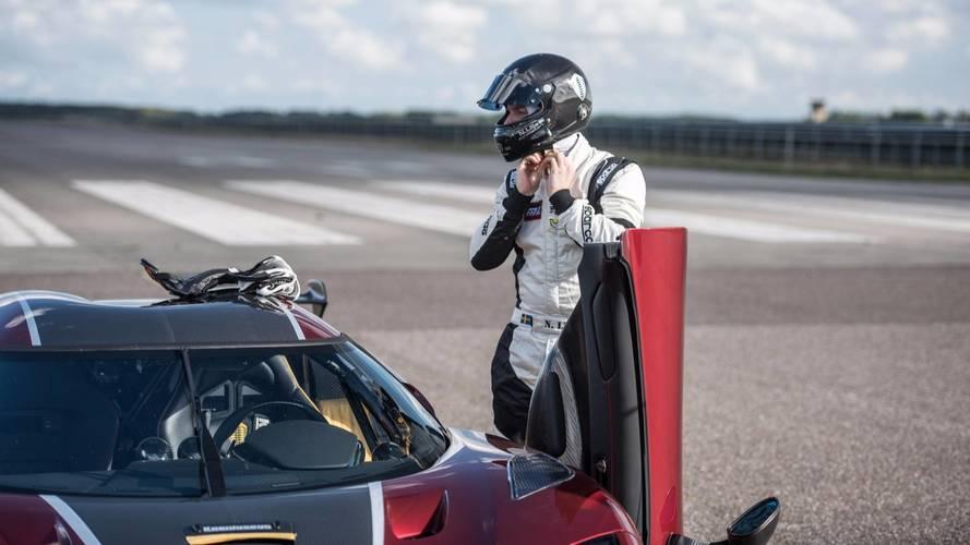 Koenigsegg Agera RS record