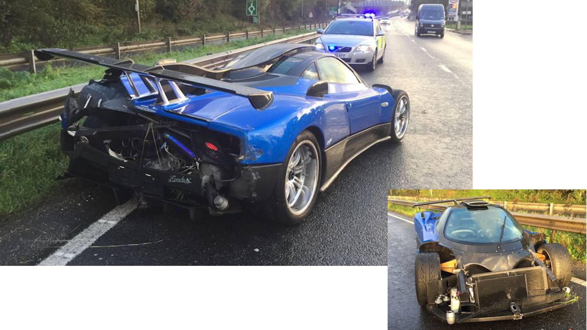 Sus police investigating £1.5m Pagani Zonda crash