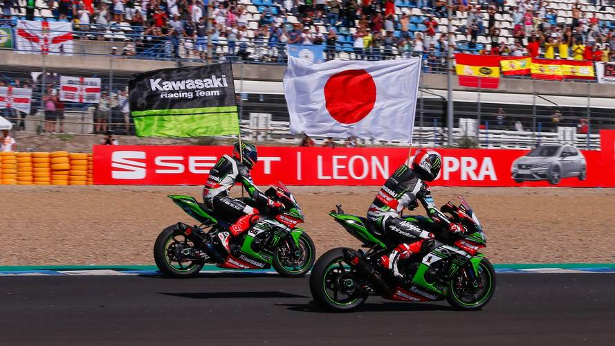Rea logra el doblete en Jerez y Kawasaki gana el WorldSBK de constructores