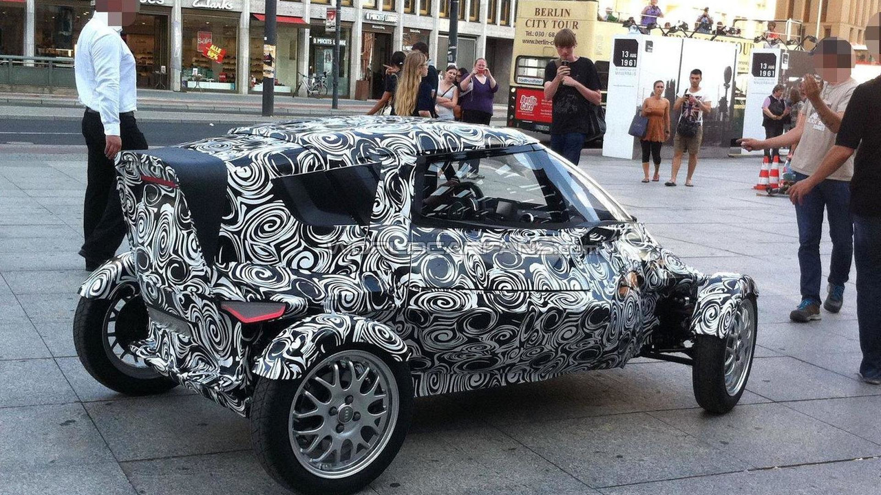 Audi City E-tron concept spied 08.08.2011