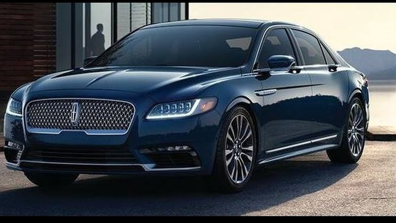 2017 Lincoln Continental leaked official photo