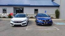 2016 Honda Civic Sedan and ninth-gen Civic Coupe