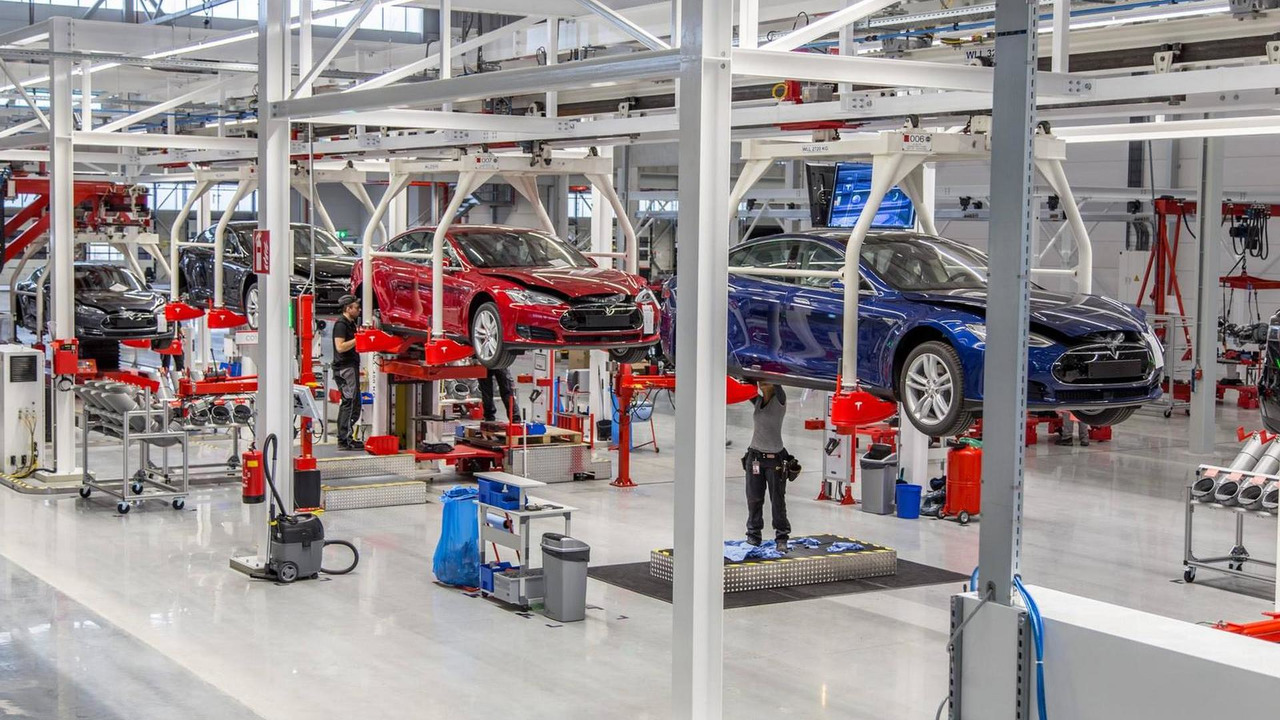 Tesla Tilburg plant