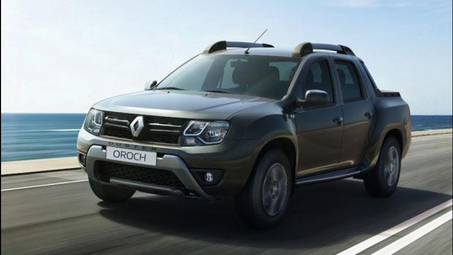 Renault Duster Oroch, primo pick-up alla francese