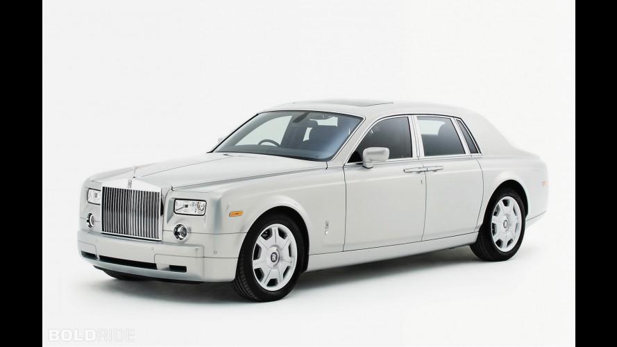 Rolls-Royce Phantom Silver