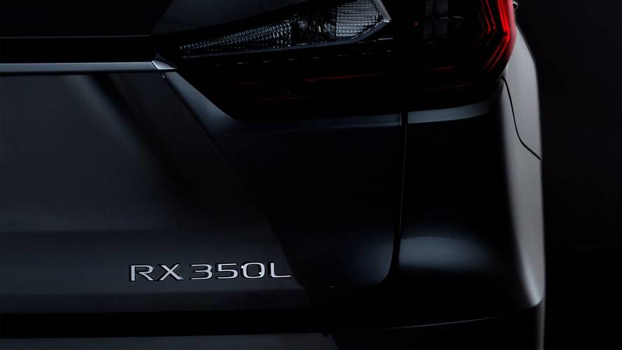 Lexus Teases Three-Row RX L SUV Ahead Of L.A. Debut