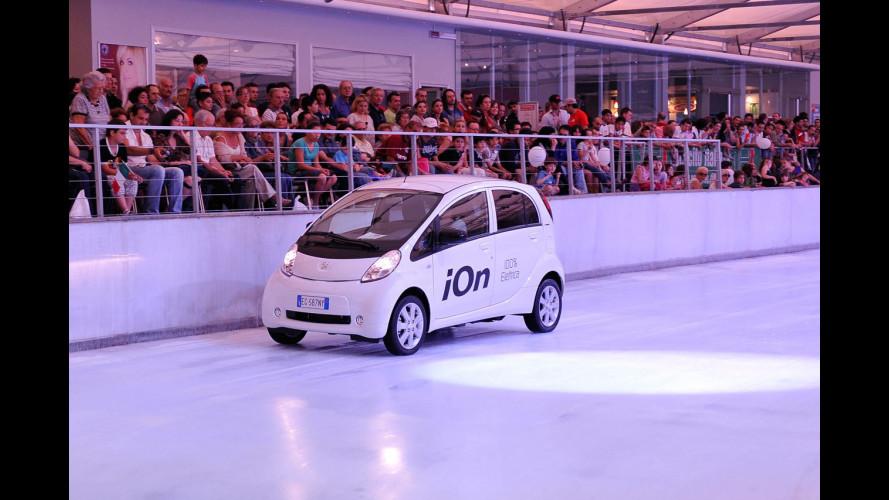 Roma Motor Show 2011, gran finale sul ghiaccio
