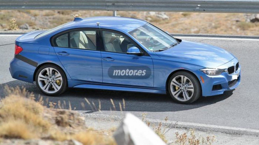 Possible BMW M340i M Performance spied for the first time