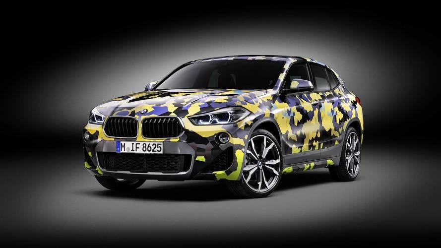 BMW X2'nin dijital kamuflajını uygulamak 4 gün sürüyor